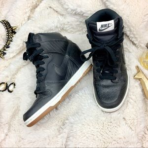 Nike Sky High Dunk Wedges Sz 6.5 Excellent cond.
